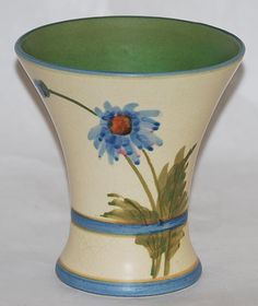 Weller Pottery Bonito Flared Rim Vase from Just Art Pottery