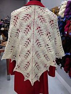 Ravelry: knittingnurse's Cedar Grove Shawl