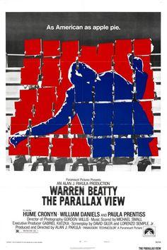The Parallax View (1974) USA Paramount Thriller D: Alan J. Pakula. Warren Beatty, Paula Prentiss, Hume Cronyn. 19/11/04