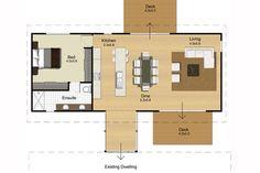 Granny Flat Home Extension Modular 90