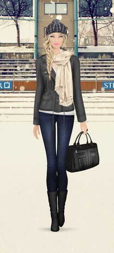 Covet Fashion Game Snow Polo in Switzerland