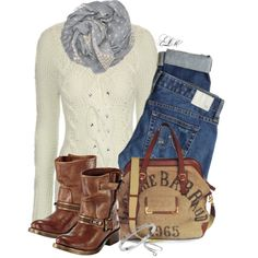 A fashion look from November 2014 featuring Jane Norman sweaters, AG Adriano Goldschmied jeans and Michael Kors bracelets. Browse and shop related looks.