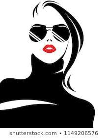 illustration vector of women silhouette icon, fashion style on white background Woman Silhouette, Silhouette Art, Arte Fashion, Icon Fashion, Images Pop Art, Graphic Design Illustration, Illustration Art, Art Optical, Grafik Design