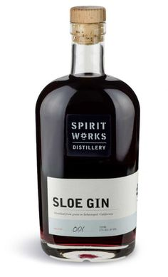 Spirit Works Distillery Sloe Gin, $40, Spirit Works Distillery at The Barlow, 6790 McKinley St., Sebastopol, www.spiritworksdistillery.com