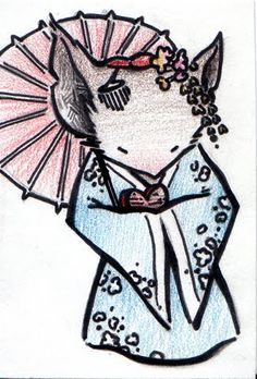 Geisha Mouse Guard