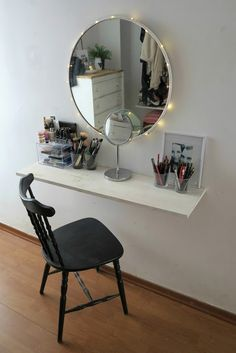 Fantastic diy home decor ideas for small homes Cute Room Decor, Easy Home Decor, Fashion Room, New Room, Bedroom Decor, Bedroom Ideas, Decoration, Interior Design, Small Homes