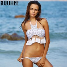 Hot Swimwear Bandage Bikini 2016 Sexy Beach Swimwear Women Swimsuit Bathing Suit Brazilian Bikini Set Biquini maillot de bain -- Clicking on the image will lead you to find similar product