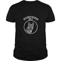Im being trained by a German Shepherd - Just look at this gorgeous breed and, yeah, we know who is calling the shots. Select as shown, or customize at www.nicelifetees.com Image by Pohjakroon  #funnyshirts #awesomeshirts #germanshepherd #germanshepherdshirts German Shepherd Shirts
