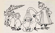The secret message in Mymble's name – queer themes in Tove Jansson's life and work part 2 - Moomin Adult Coloring, Coloring Pages, Moomin Books, Moomin Valley, Tove Jansson, Enjoy Your Weekend, Weird Creatures, Sculpture, Little My