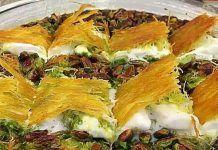 Η παραδοσιακή συνταγήμπακλαβά της Γκάζιαντεπ-Παραλλαγές σιροπιαστών Spanakopita, Greek Recipes, Sweets, Cooking, Ethnic Recipes, Food, Cakes, Sweet Pastries, Cucina