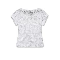 girls lucy top | girls a pretty | abercrombiekids.com. Love the lace