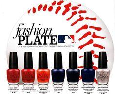 OPI Nail Polish MLB   OPI Fashion Plate Collection 2014