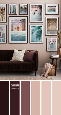 Living Room Decor Colors, Room Wall Colors, Living Room Color Schemes, Living Room Paint, Home Living Room, Living Room Designs, Home Room Design, Bedroom Decor, Earth Tone Living Room Decor