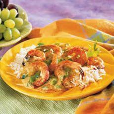 Fabulous Fast Shrimp with cream of celery soup