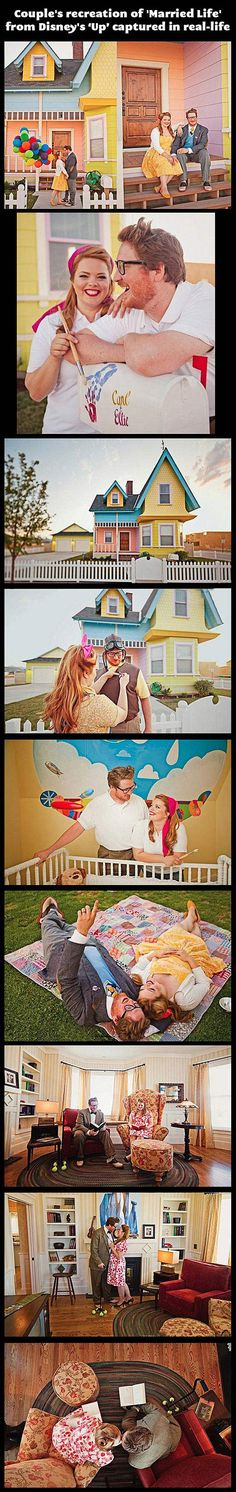 'Up' in real life…