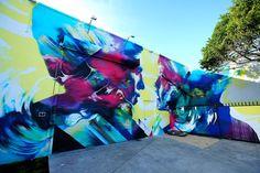 HUEMAN _ Outdoor _ Wynwood, Miami, USA