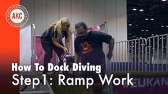 Dock Diving How-To Step # 1: Ramp Work