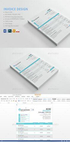 Elegant Business Invoice Template