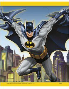 8 Barman™ juhlapussia 18 x 23 cm, tilaa Koristeet Vegaoo.fi:ltä Batman Party, Joker Batman, Lego Batman, X 23, Gotham City, Boy Birthday, Birthday Parties, Dc Comics, Party Mottos