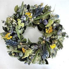 Lavender Bundle Dried Wreath