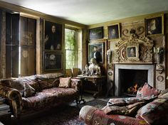 Malplaquet House. London, England. Circa 1740. -- Will Pryce Photos