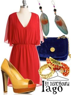 Iago outfit - by disneybound