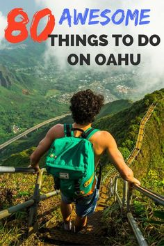 At we slipped past the guard and began to climb The Stairway To Heaven Oahu, Hawaii. It is one of the wonders of the world and my favorite hike on Oahu! Maui, Oahu Hawaii, Hawaii 2017, Visit Hawaii, Oahu Vacation, Vacation Trips, Vacation Ideas, Mahalo Hawaii, Hawaii Travel Guide