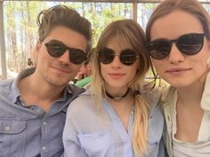 Amadeus Serafini, Carlson Young, and Willa Fitzgerald