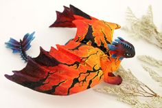 "Toruk (Leonopteryx) hybrid, ""How to train your dragon"" & James Cameron's ""Avatar"" - two lovely creatures in one. inch in length, inch wing. Httyd Dragons, Cool Dragons, Mythical Creatures Art, Fantasy Creatures, Lovely Creatures, Night Fury Dragon, Polymer Clay Dragon, Dragon Artwork, Dragon Crafts"