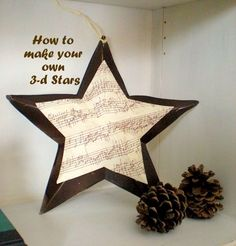 Make Your Own 3D Stars