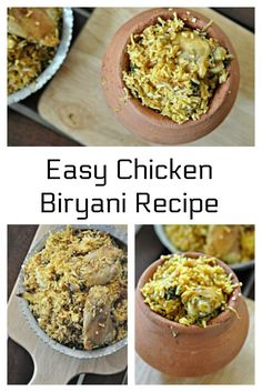 This super simple and delicious Chicken Biryani re…