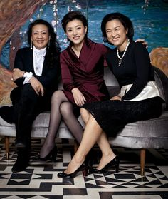 """""""Four Female Tycoons in China""""--they came from poverty or modest backgrounds & bucked tradition to become entrepreneurs"""