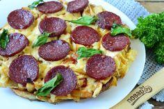 Пицца на картошке фри
