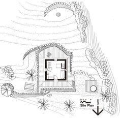 Cabin Style House Plan - 1 Beds 0 Baths 546 Sq/Ft Plan #547-1