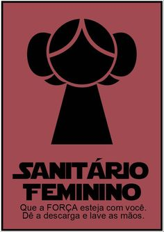Sanitario Feminino Star Wars by ElitonZ