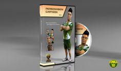 Novo curso Personagem Cartoon 3D em DVDs com 3ds Max, Photoshop e After Effects. Confira: http://www.tonka3d.com.br/curso-3ds-max-personagem-cartoon.html