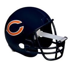 """Scotch Magic Tape Dispenser, Chicago Bears Football Helmet with 1 Roll of 3/4"""" x 350"""" Tape"""