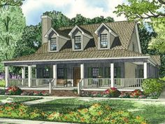 single story farmhouse with wrap around porch square feet 3 bedroom 2 bathroom farmhouse home with 2 garage bays dream home pinterest square