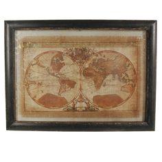 Weltkarte von Braxton