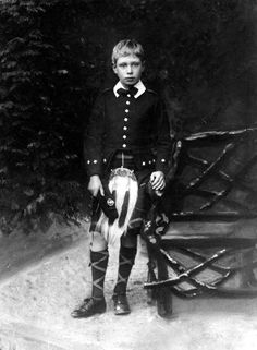 Duke of York, later King George VI, pictured as a young boy.