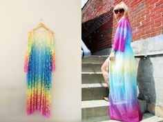 Rainbow Sky Kimono