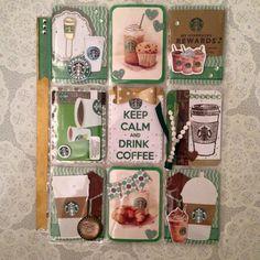 Starbucks Coffee Pocket Letter
