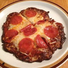 No Carb Pizza Crust
