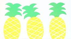 Coloque as mãos na massa e faça já algumas caixinhas decoradas de abacaxi para incrementar a sua fes