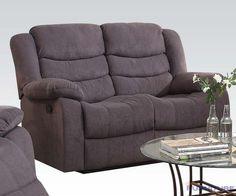 Acme Furniture - Jacinta Recliner Loveseat with Motion Reclining Mechanism - 51411