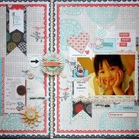 A Project by KyokoMatsumura from our Scrapbooking Gallery originally submitted 09/06/12 at 08:46 AM