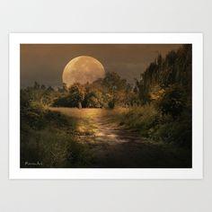 Good Night Art Print by RAVENART - $35.00