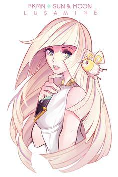 Lusamine by Avelayne on DeviantArt Lusamine Pokemon, Pikachu, Pokemon Waifu, Pokemon Memes, Pokemon Fan Art, Cute Pokemon, Pokemon Stuff, Pokemon Game Characters, Comic Art Girls