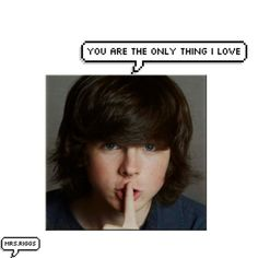 If u see this (chandler), r u the real chandler riggs? Comment?