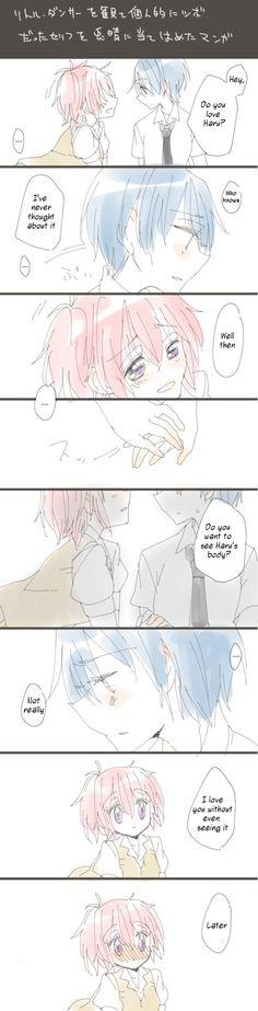 Tokaku x Haru Riddle Story Of Devil, Akuma No Riddle, Yuri Anime, Riddler, Anime Couples, Vocaloid, Anime Girls, Sweet, Fictional Characters